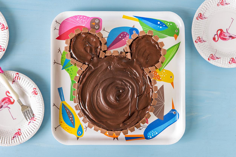עוגת שוקולד מיקי מאוס